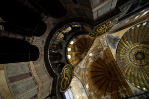 Dome detail of Ayasofya by TanBekdemir