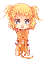 -- Chibi Commission for AkasunaKage -- by Kurama-chan