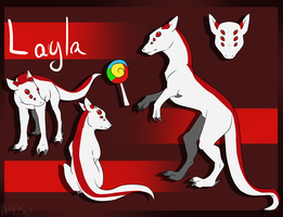 Layla Sticker Sheet by SpytDragonFyre