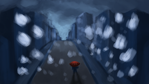 Feeling Blue - I walk a lonely road.... by UsayFudo