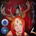 Herne's Progeny -Joanna by J-Mobius