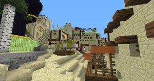 Minecraft:  Fesh'knet marketplace by Sherio88