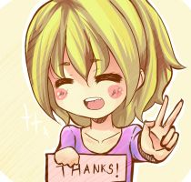 Thanks!! by harukagi