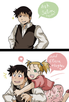 Ask Selim and Elicia - Tumblr's ask page by fmabigfan