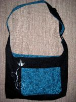 Reversable Messenger Bag by solitarymuse
