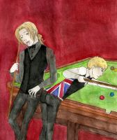 APH: Snooker by Demmi-chan