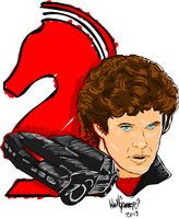 Michael Knight by Namcoking