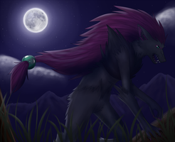 Pokemon: Zoroark by PrinceofSpirits