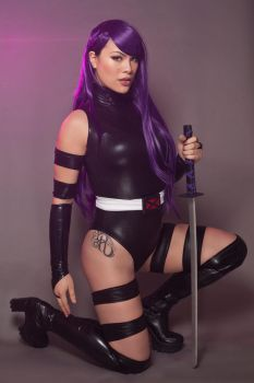 Uncanny X-Force - Psylocke by raquelsparrowcosplay