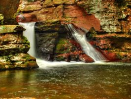 Ricketts Glen State Park 102 by Dracoart-Stock