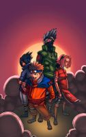 Shaun's Team 7 Coloured by pixelisedmind