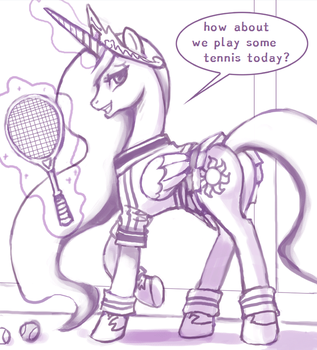 tennis? by PrincessMoonbeams