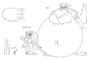Bellystorm the Giant Monster by Daxx-Lorenzo