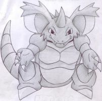 M.L.E. Nidoking by VinVagia