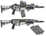 UGTF L603 Combat Rifle by TheFrozenWaffle