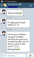 Changkyu Text Messages 1 by MangaandAnimeLuver