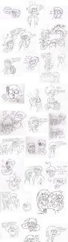 Doodle Fight via MMS by eddsworld