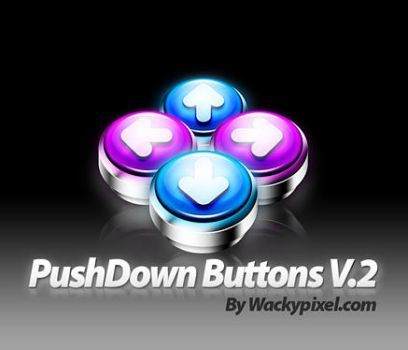 PushDown Buttons 2 by wackypixel