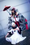 Yamato [prop] and Midway Hime KanColle Cosplay by K-I-M-I