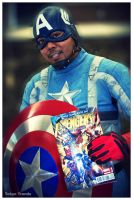 Captain America and his Comic by Tokyo-Trends