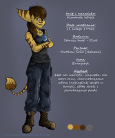 Kim - Ref Sheet by Stychno