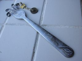 Fork bookmark by estranged-illusions