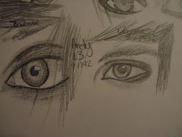 Eyes-James and Andy by 6-9Changeling
