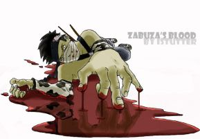 Zabuza's Blood by istutter