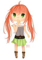 Chibi Aira by rainbownote