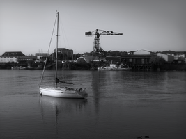 Loire grayscale filtered by Pierre-Lagarde