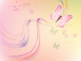 pastel butterfly by dodozhang21