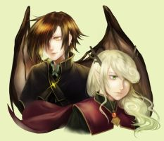 Commish: Ilquinis and Vharen by f-wd