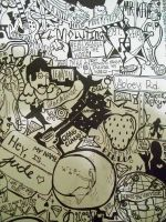 The Beatles Collage by midNite-Pearl
