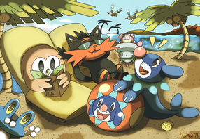 Welcome to the Alola Region by Phatmon