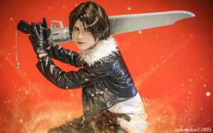 Squall Leonhart Cosplay - Limit Break by DakunCosplay
