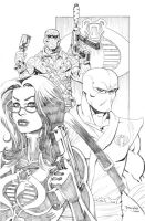 Baroness Stormshadow n Firefly by thejeremydale