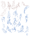 Gestures July 7 by TenshiHoshino
