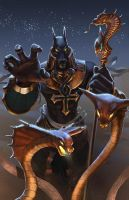Heroes of Newerth - Anubis Pharaoh by Izaskun