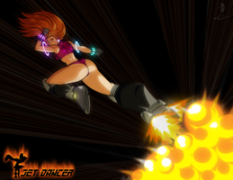Jet Dancer - Blast Kick by Dualmask