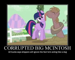 Big McIntosh Motivational by CrossoverPrincess