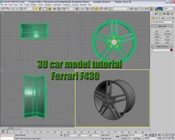 Car model tutorial part 1 by XdesignsIllusion