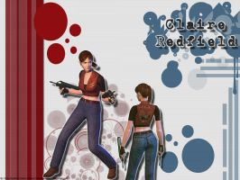 ::Claire Redfield:: wall by Claire-Wesker1