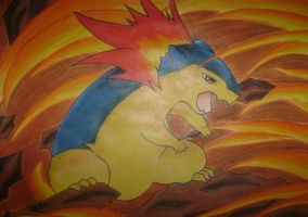 Typhlosion by GissieWizzie