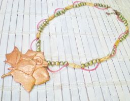 Rosy Outlook Necklace by RetroRevivalBoutique