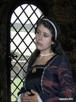 Anne Boleyn Imprisoned by Leppardra