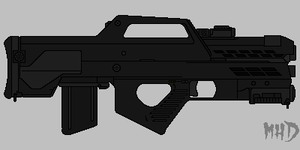 Tactical Assault Rifle Ver.2 by hughesdm