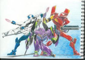 Neon Genesis Units by TheUglyBlowfly
