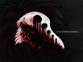 call this a mask by thelunacy-fringe