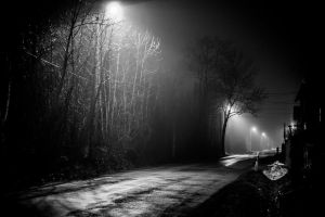 ominous road by DanielGliese