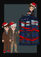 TARDIS Christmas by moniek-kuuper